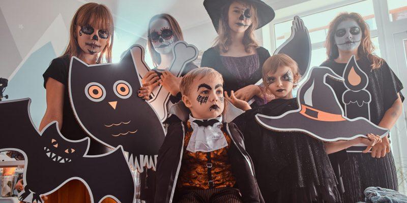 Juegos de Halloween para que los niños se muevan